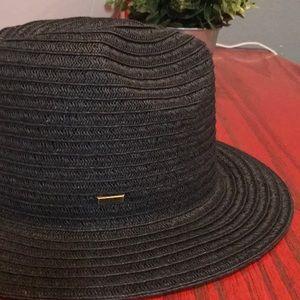San Diego Hat Co Ultrabraid Adj Fedora Hat NWT